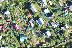 Фотограмметрический метод получения информации о земельных участках и объектах недвижимости
