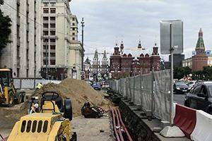 Сводный план подземных сооружений и коммуникаций Москвы
